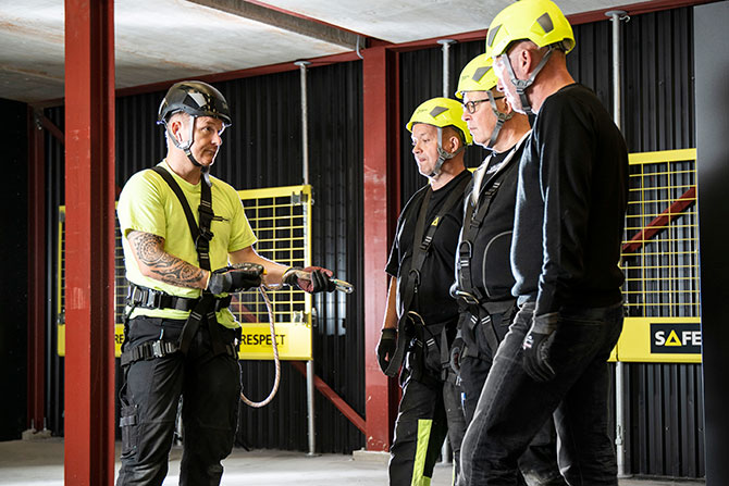 Personal fall protection training courses